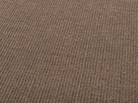 Premium 18 - Prachtig donkerbruin sisal vloerkleed met bijpassende band afwerking