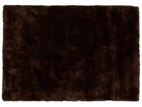 Ross 19 - Prachtig hoogpolig vloerkleed met donkerbruine garensamenstelling