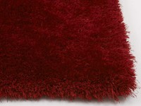 Ross 44 - Prachtig hoogpolig vloerkleed in rode mix kleurensamenstelling