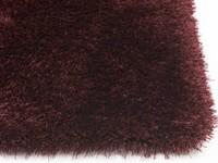 Ross 47 - Prachtig hoogpolig vloerkleed in bordeaux kleursamenstelling
