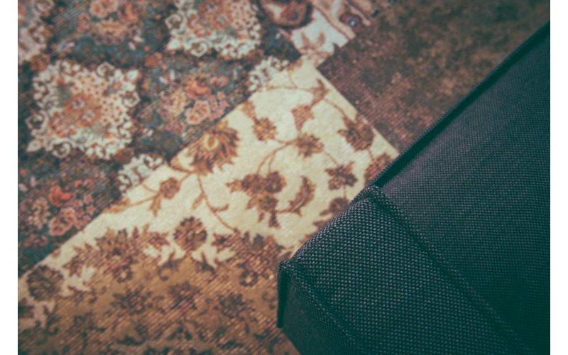 Barcelona 99 - Vintage vloerkleed in Donkere kleurstelling