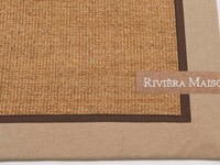 Vloerkleed Riviéra Maison EdgarTown 15 Beige band RM 12