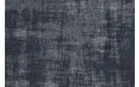 Réal 35 - Prachtig vintage vloerkleed met unieke Donkerblauwe garen