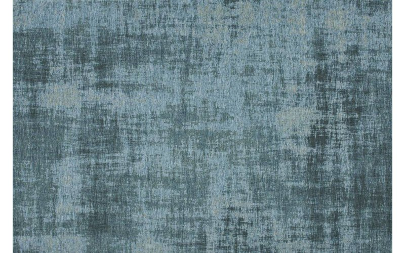 Réal 33 - Prachtig vintage vloerkleed in Turquoise kleursamenstelling