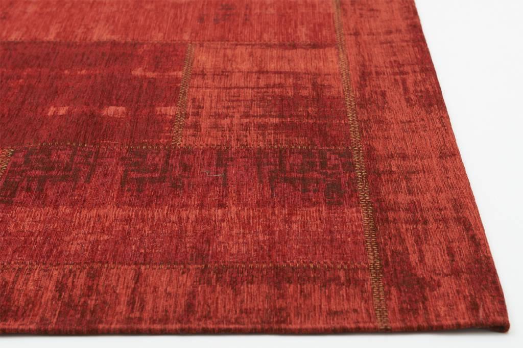 4243de76d13b48 Uniek Vintage vloerkleed in Rode Kleurstelling - Enzo 45 ...