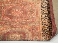 Barcelona 63 - Vintage vloerkleed in Oranje/Rode tinten