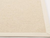 Castle 11 - Wollen vloerkleed in Witte kleursamenstelling