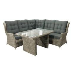 Corner sofa cover dining