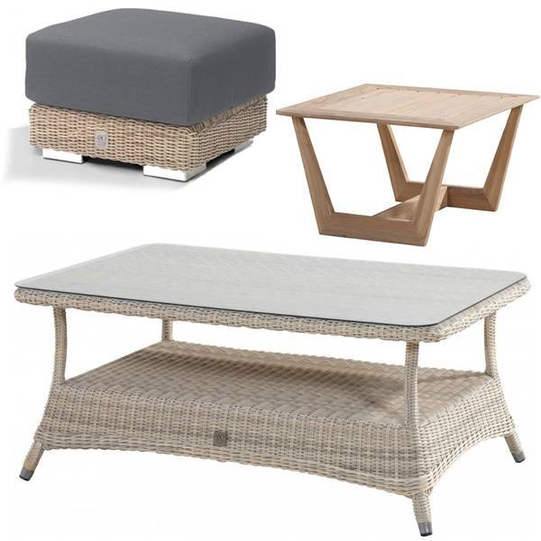 Covers for outdoor footstools