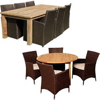 Covers for outdoor dining sets