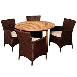 Round furniture set cover