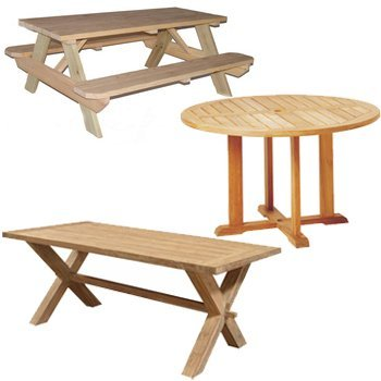 Protective covers for outdoor tables