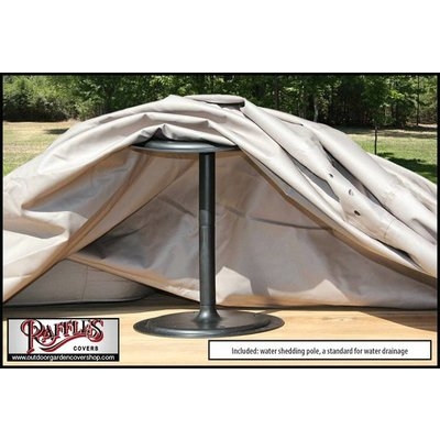 Raffles Covers Outdoor dining set cover 310 x 165 H: 90 cm