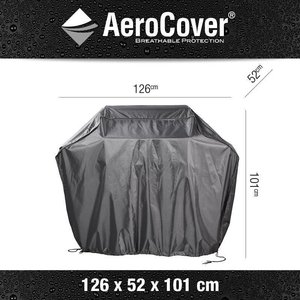 AeroCover Outdoor kitchen Cover Small, 126 x 52 x 101 cm