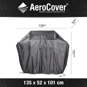 AeroCover Outdoor kitchen Cover Medium, 135 x 52 x 101 cm