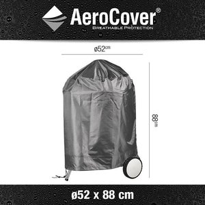 AeroCover Charcoal grill cover, Ø 52 cm & H: 88 cm