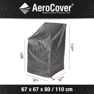 AeroCover Cover for stackable or adjustable chairs, 67 x 67 H: 110 cm