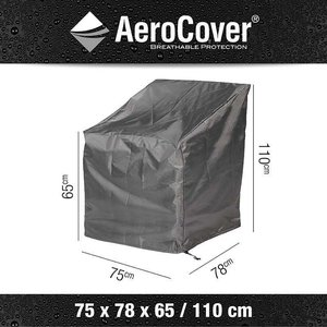 AeroCover Outdoor lounge chair cover, 75 x 78 H: 110 cm