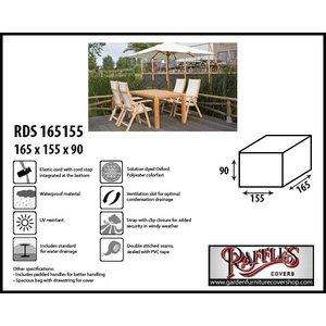 Raffles Covers Garden furniture set cover, 165 x 155 H: 90 cm