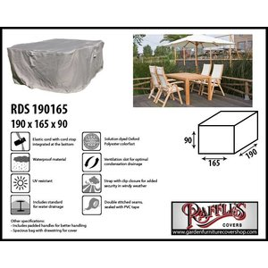 Raffles Covers Cover for outdoor furniture set, 190 x 165 H: 90 cm