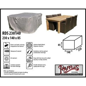 Raffles Covers Garden furniture protection cover, 230 x 140 H: 85 cm