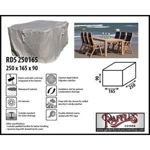 Raffles Covers Durable patio furniture cover, 250 x 165 H: 90 cm