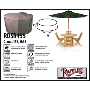 Raffles Covers Garden dining set cover round, Ø: 155cm & H: 85 cm