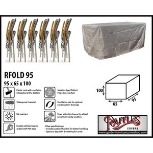 Raffles Covers Protection cover for folding chairs, 95x65 H: 100 cm