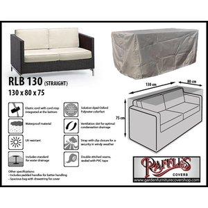 Raffles Covers Lounge sofa cover, 130 x 80, H: 75 cm