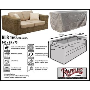 Raffles Covers Cover for lounge sofa, 160 x 95, H: 75 cm