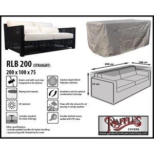 Raffles Covers 2 - 3 Seater sofa cover, 200 x 100 H: 75 cm