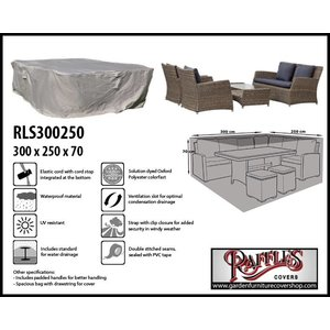 Raffles Covers Outdoor lounge set cover, 300 x 250 H: 70 cm