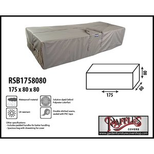 Raffles Covers Storage bag for garden cushions, 175 x 80 H: 80 cm
