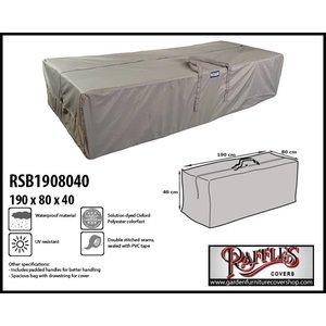 Raffles Covers Garden cushions storage bag, 190 x 80 H: 40 cm