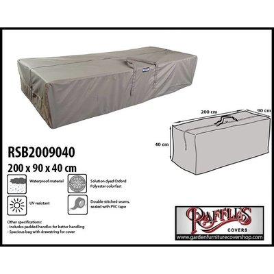 Raffles Covers Outdoor cushions storage bag 200 x 90 H: 40 cm