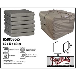 Raffles Covers Storage bag for outdoor cushions, 80 x 80 H: 65 cm