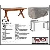 Raffles Covers Rectangular garden table cover 220 x 100 H: 75 cm