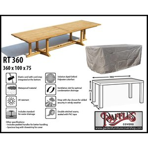 Raffles Covers XXL table cover, 360 x 100 H: 75 cm