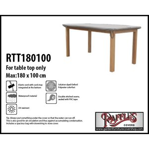 Raffles Covers Protection cover for table top, 180 x 100 cm