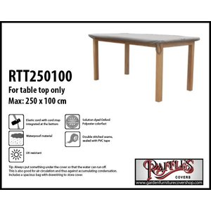 Raffles Covers Outdoor cover for tabletop, 250 x 100 cm