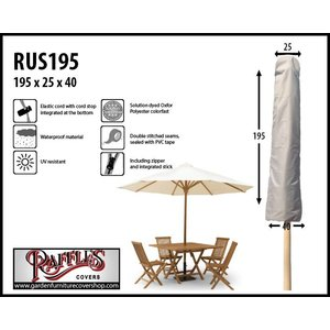 Raffles Covers Weather cover for parasol, H: 195 cm