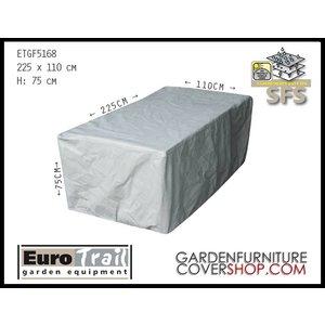 EuroTrail Cover for rectangular garden table, 225  x  110 H: 75 cm
