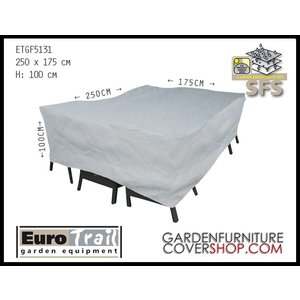 EuroTrail Cover for garden furniture set 250 x 175 H: 100 cm