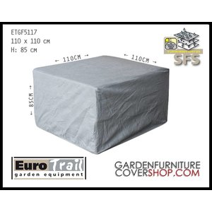 EuroTrail Cover for  lounge patio chair, 110 x 110 H: 85 cm