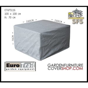 EuroTrail Lounge chair cover, 100 x 100 H: 70 cm