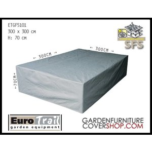 EuroTrail Protection cover for lounge furniture, 300 x 300 H: 70 cm