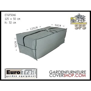 EuroTrail Storage bag for garden cushions, 125 x 50 H: 32 cm
