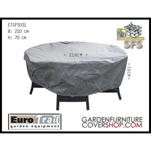 EuroTrail Round cover for patio furniture, Ø 210 x 70 cm