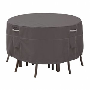 Ravenna, Classic Accessories Round cover for patio dining set, Ø 137 H: 58 cm