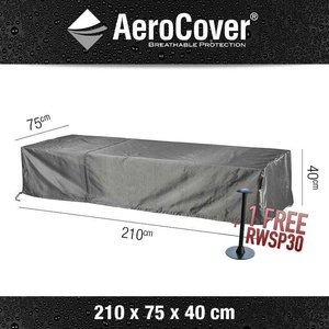 AeroCover Cover for sun lounger, 210 x 75 H: 40 cm